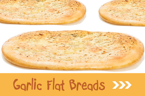 order garlic flat breads online